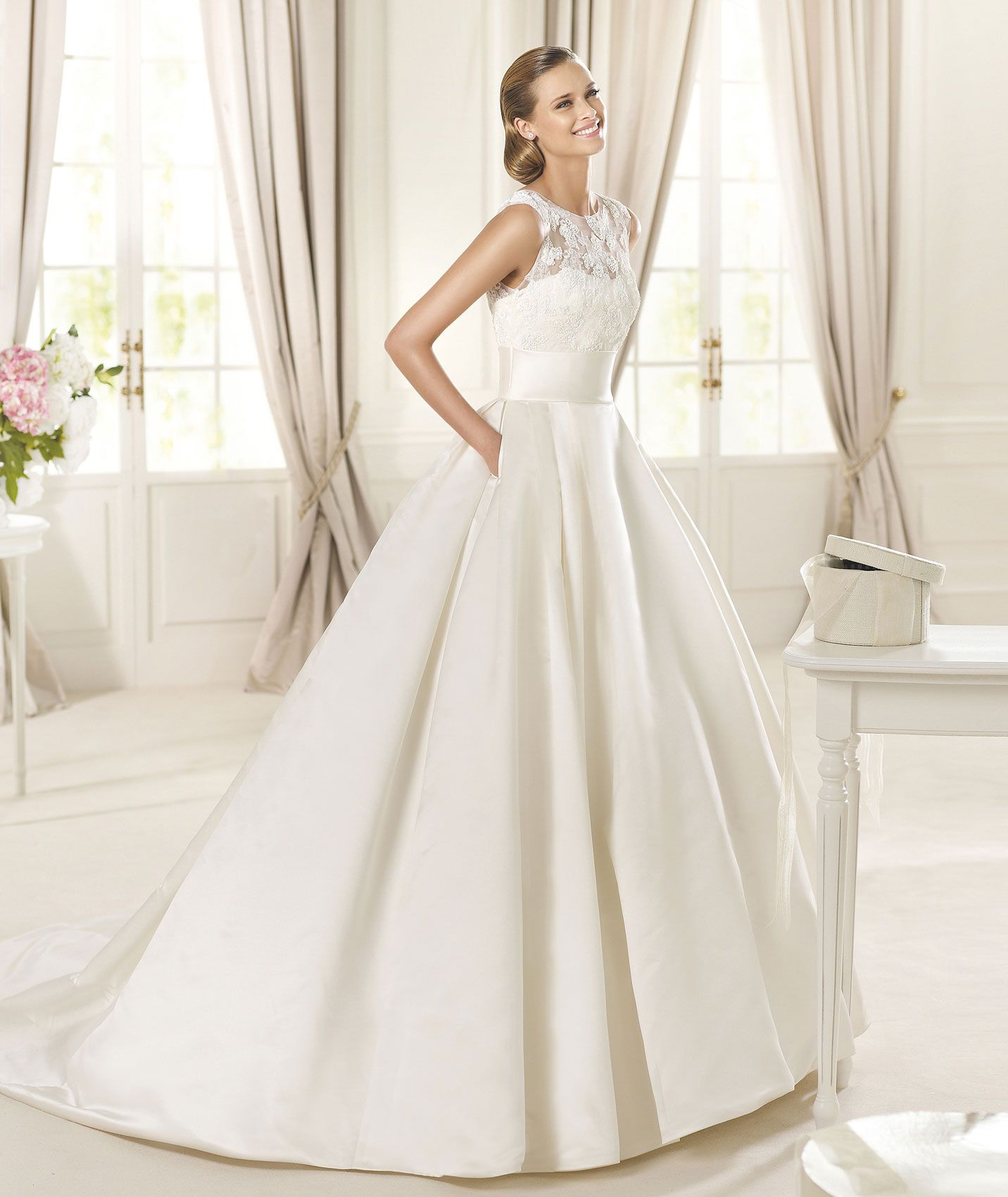 Bridal dress. Dalia Model. Collection Costura 2015. Pronovias 2015 ...