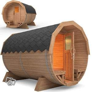 Sauna De Jardin Baril Bois U0026 Poêle Inclus 3279 HT Jardinage Haut Rhin    Leboncoin