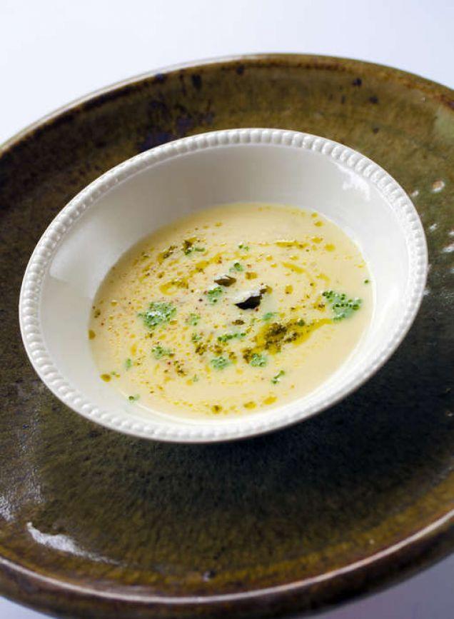 lyxig soppa förrätt