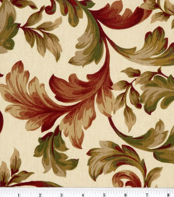 Exceptionnel Home Essentials Print Fabric Abigail Ruby