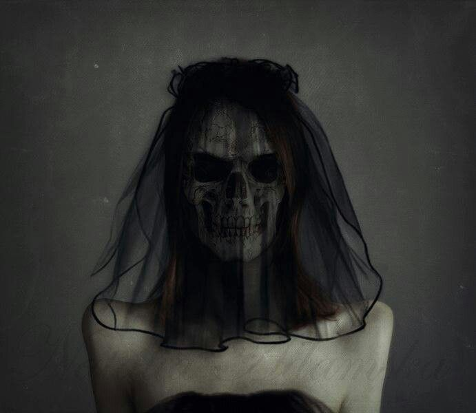 Dead bride. Black veil. I need this for teaching The Minister's ...