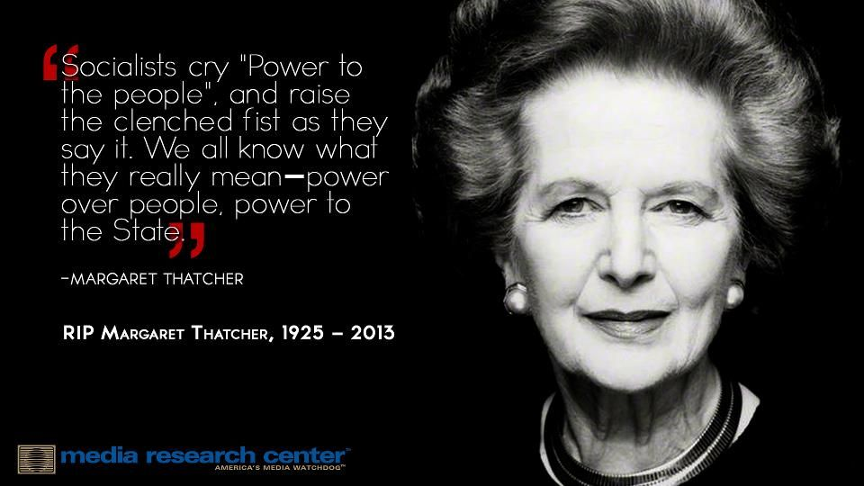RIP Margaret Thatcher, Great Britain's last truly conservative Prime Minister.