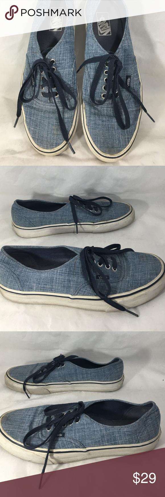 Vans Mens Größe 10 TB8C Schuhe Snickers Off the Wall Blue | Etsy