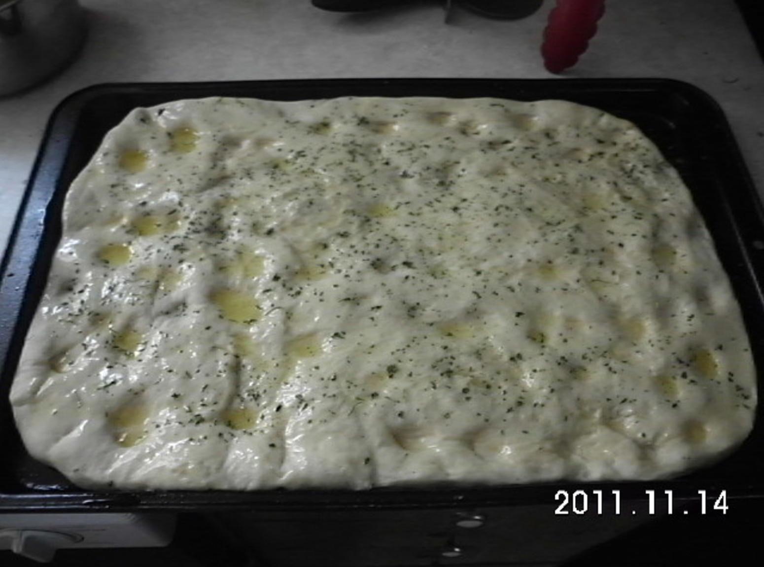 foccacia bread machine recipe