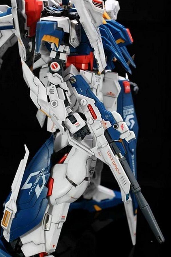"Painted Build: 1/100 RX-105 Ξ ""Xi"" Gundam - Gundam Kits Collection News and Reviews"