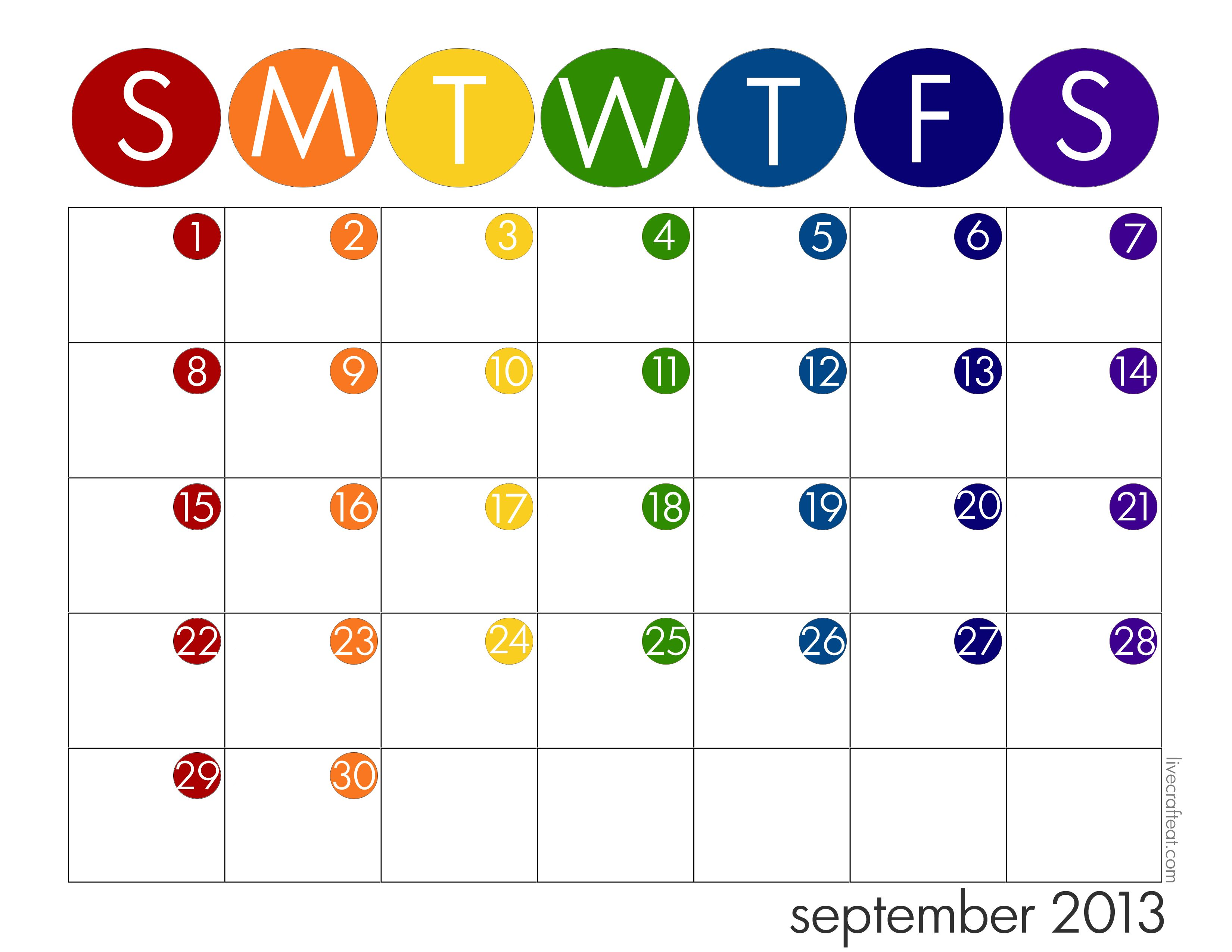 Kids School Year Calendar