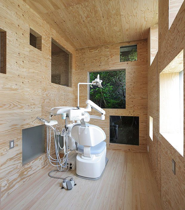 97 Best Images About Dental Office Ideas On Pinterest: Dentist Clinic In Fukuyama // Hiroshima