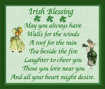 May you always have wall for the winds a roof for the rain tea may you always have wall for the winds a roof for the rain tea irish birthday wisheshappy m4hsunfo Gallery