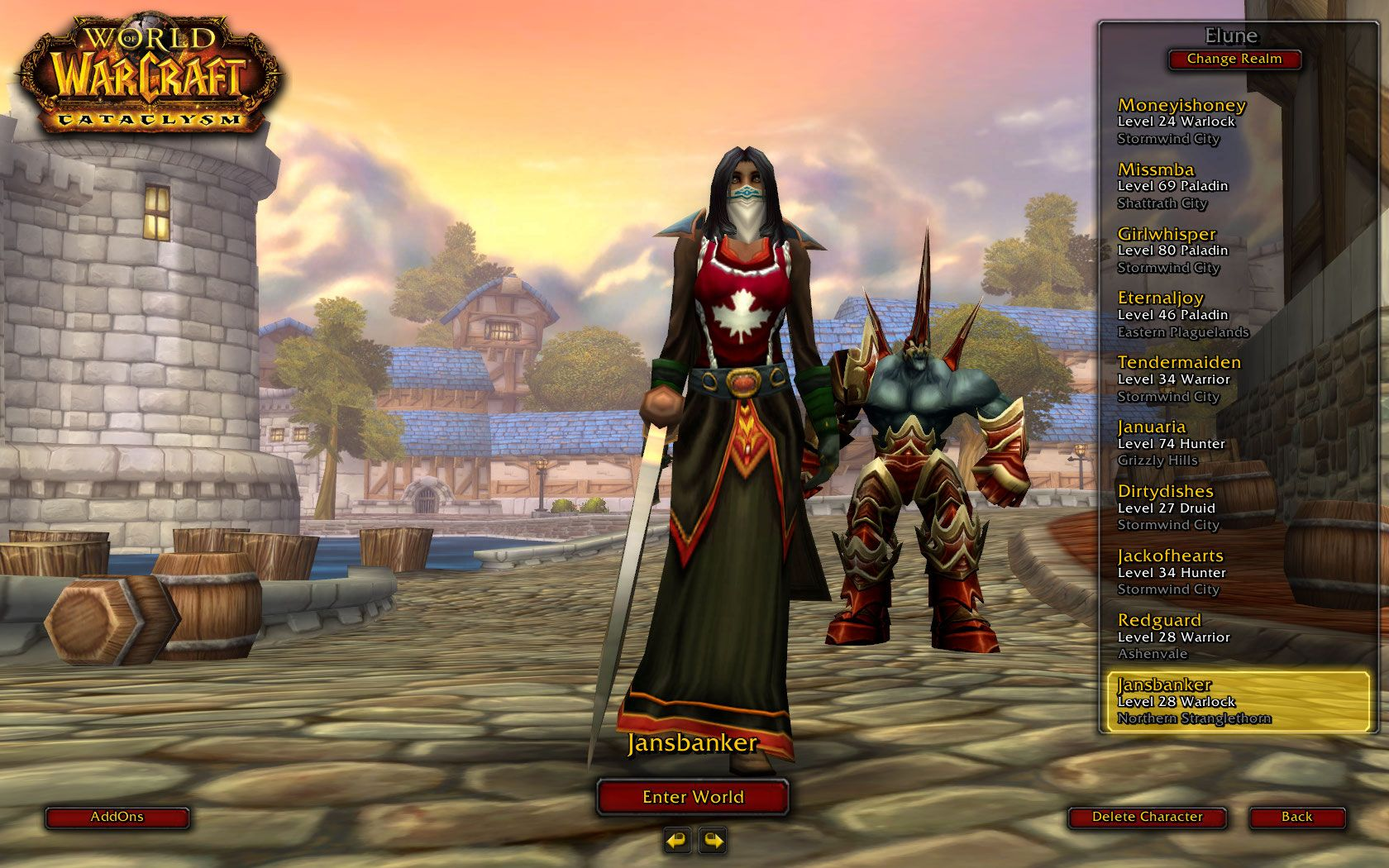 World of Warcraft Star wars the old, World of warcraft