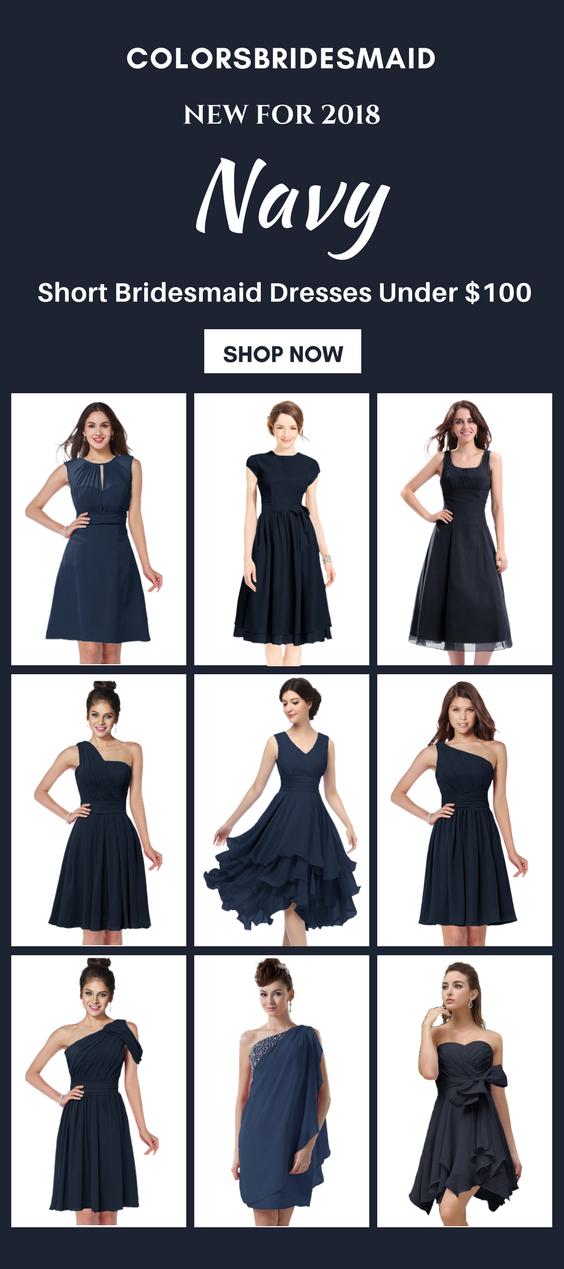 9 Best Short Navy Blue Bridesmaid Dresses Under 100 Shop Now Navy Blue Bridesmaid Dresses Short Navy Blue Bridesmaid Dresses Bridesmaid Dresses Under 100