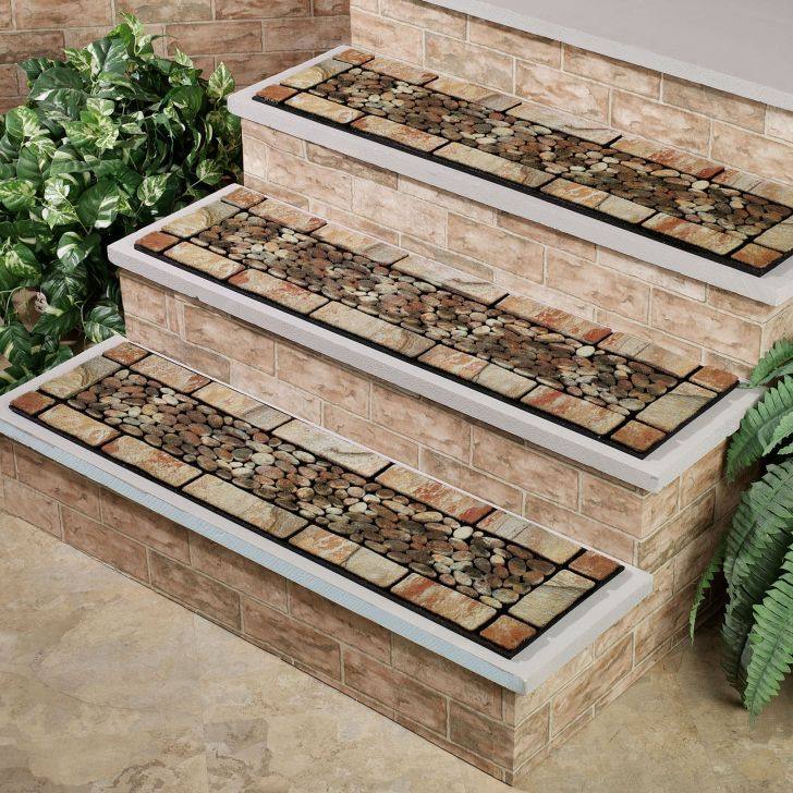 Best Stone Texture Outdoor Stair Mats Ideas Outdoor Stairs 400 x 300