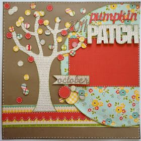 Lauren's Creative: Pumpkin Patch Layout