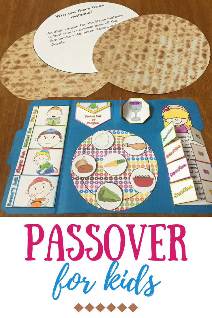 Passover For Kids This Passover Lapbook Is A Fun Interactive Way For Your Sunday School Or Hebrew School Ki Passover Kids Passover Crafts Passover Printables [ 1102 x 735 Pixel ]