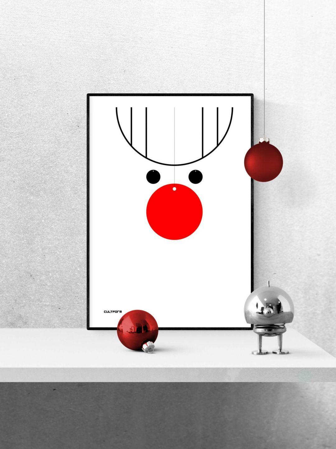 Grafik Kinder Rentier A4 Download zeitlos. in. form. CULTFORM #projectstotry