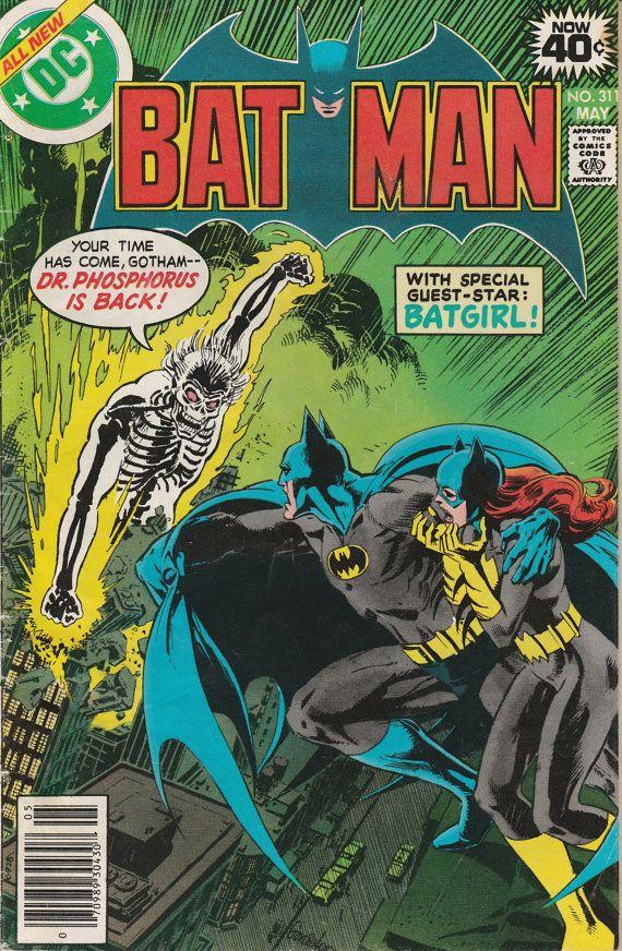 Batman Vol. 40 No. 311 1979 by TheSamAntics on Etsy