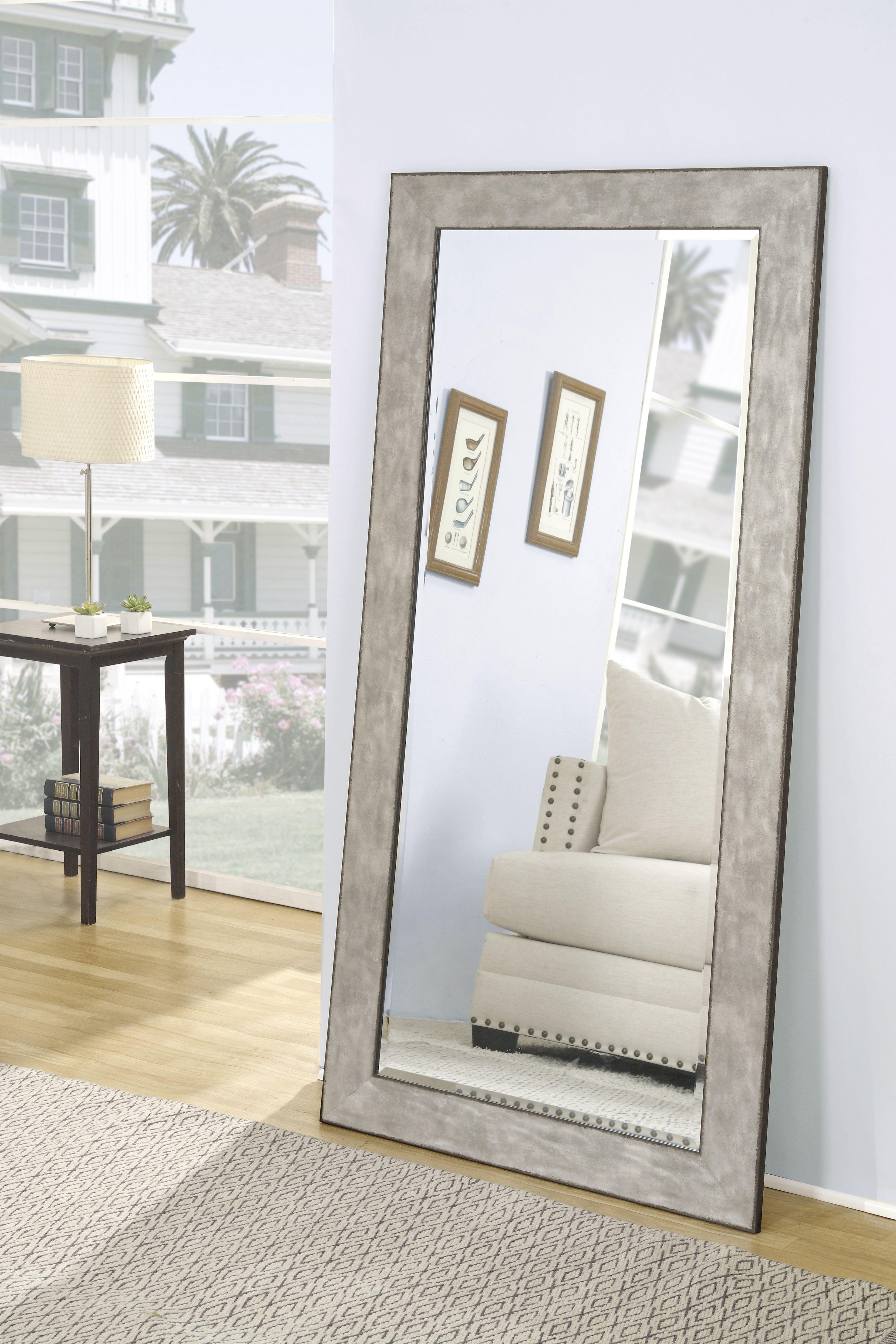 Full Length Leaner Mirror Black 65 X 31 By Martin Svensson Home Walmart Com Large Wall Mirror Full Length Mirror In Bedroom Leaner Mirror