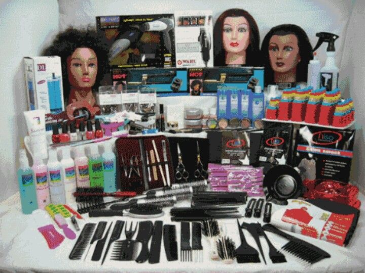 Cosmetology supplies vision board pinterest