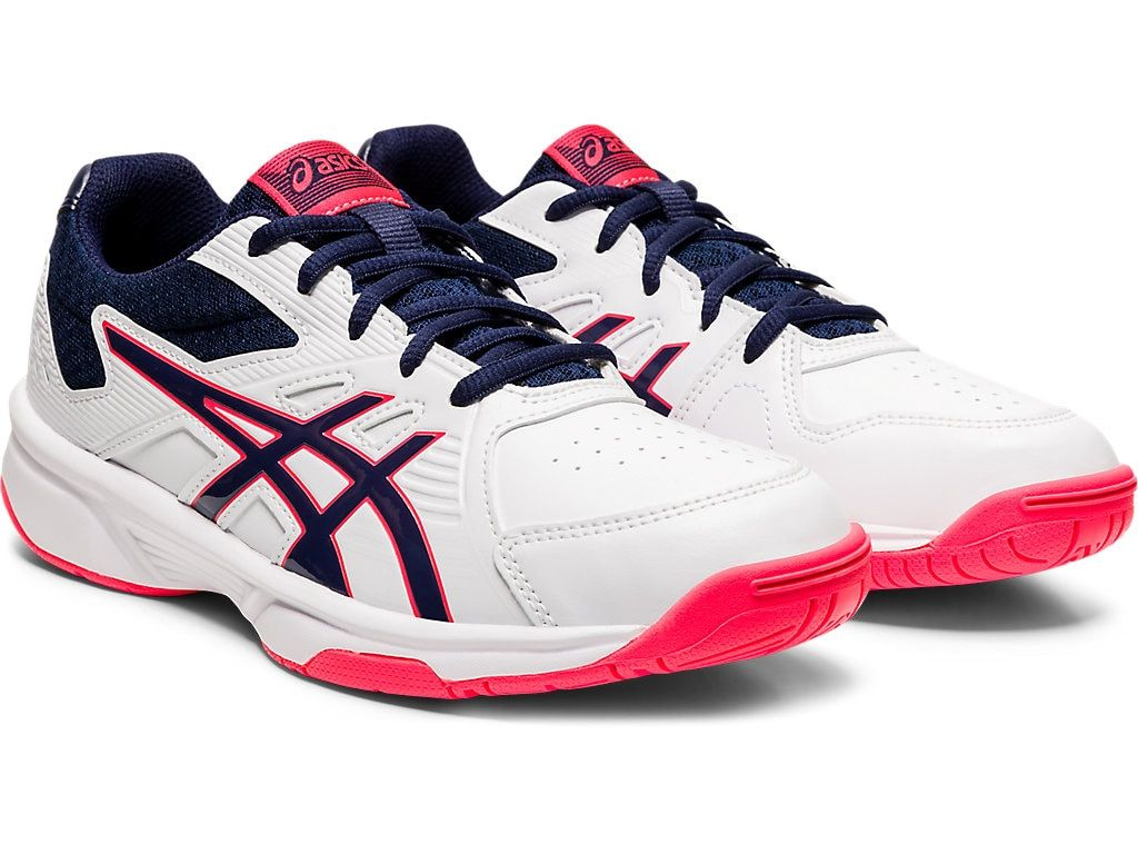 Women S Court Slide White Peacoat Tennis Asics Outlet In 2020 Womens Tennis Shoes Asics Sports Footwear