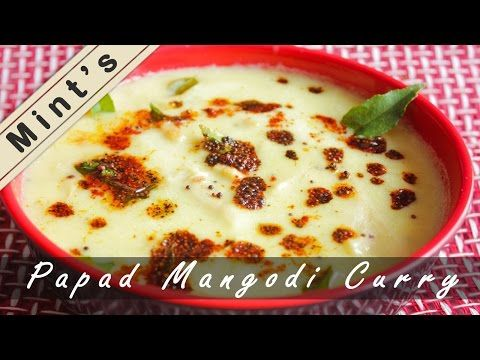 How to make papad mangodi ki curry rajasthani recipes pinterest learn how to make papad mangodi ki curry with this simple recipe with step by step video in hindi forumfinder Choice Image