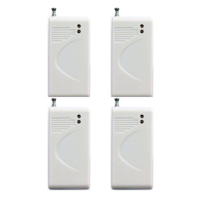 Wireless Vibration Glass Break Alarm Sensor Breakage Glass Sensor Detector 433mhz For Our Alarm System