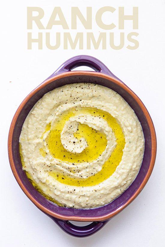 Ranch Hummus | Real Food by Dad