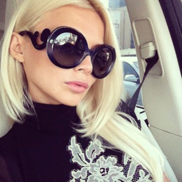 0697fceb0d45 Prada Baroque Sunglasses | The Luxurious Life of Jet Set | Prada ...