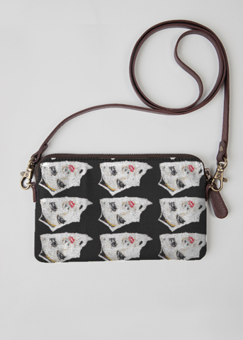 VIDA Statement Clutch - Scottish cow by VIDA
