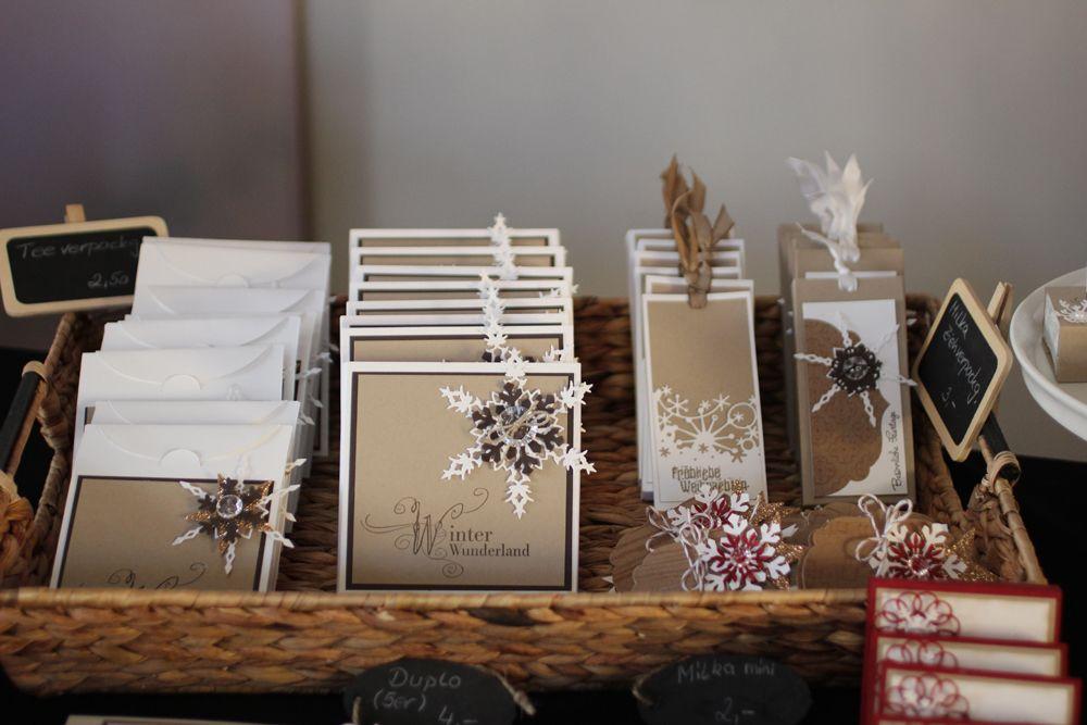 Weihnachtsmarkt | Stampin' Up! mit Kerstin Kreis #weihnachtsmarktideenverkauf