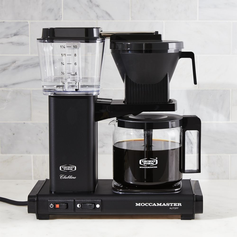 Moccamaster 10Cup Matte Black Coffee Maker + Reviews