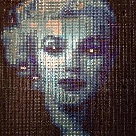 """MARILYN MONROE"" - mixed media - https://www.facebook.com/galeriemonsieur - monsieur@galeriemonsieur.com"