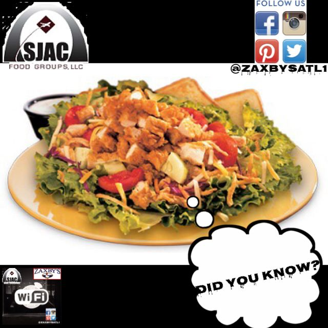 Pin By Zaxbys On Zaxbysatl1 Food Salad Grilled Chicken Salad