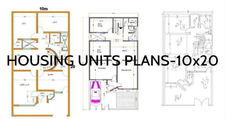 10 x 20 meters is the area that these home plans are turning into