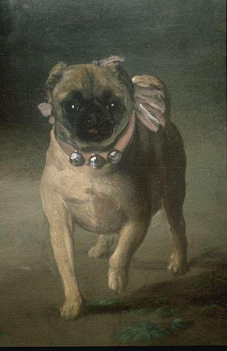 World Art Treasures Pintura Perro Francisco Goya Arte