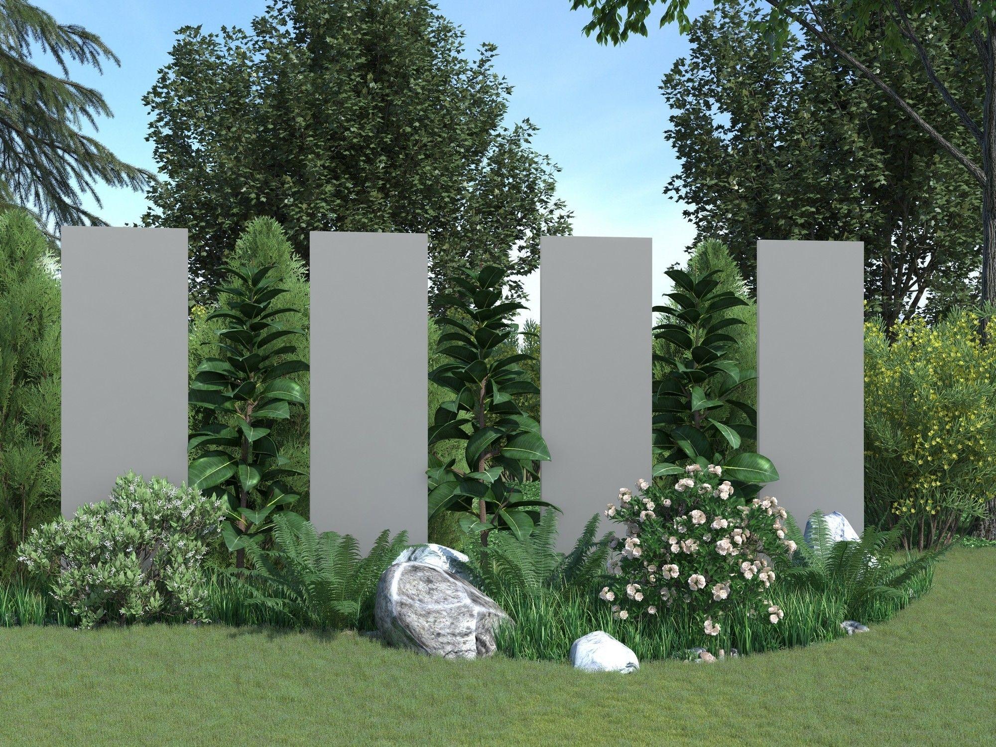Kunststoff Designtafel Bayon Design Sichtschutz Kunststoff Sichtschutz Sichtschutz Garten Design Sichtschutzelemente Palisaden