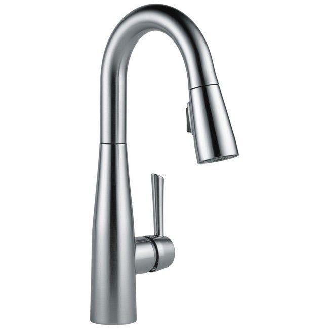 Delta Essa None Pullout Spray Bar Faucet 9913-AR-DST Arctic ...