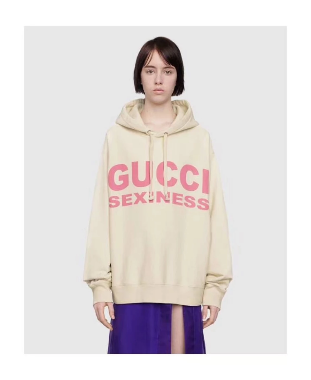Gucci Gucci Sexiness Print Sweatshirt Baige Grailed Sweatshirts Printed Sweatshirts Gucci [ 1222 x 1000 Pixel ]