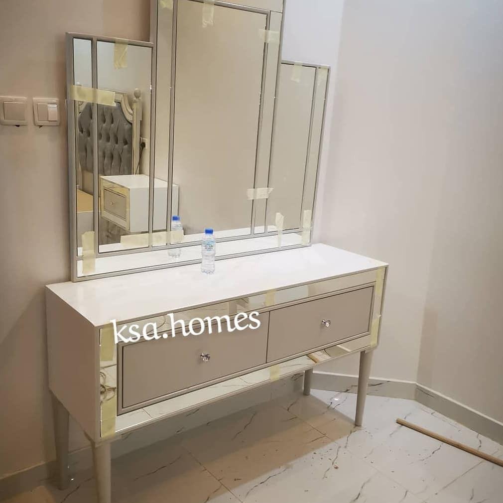 Pin By تفصيل غرف نوم وطني توصيل لجمي On تفصيل غرف نوم Bathroom Vanity Vanity Double Vanity