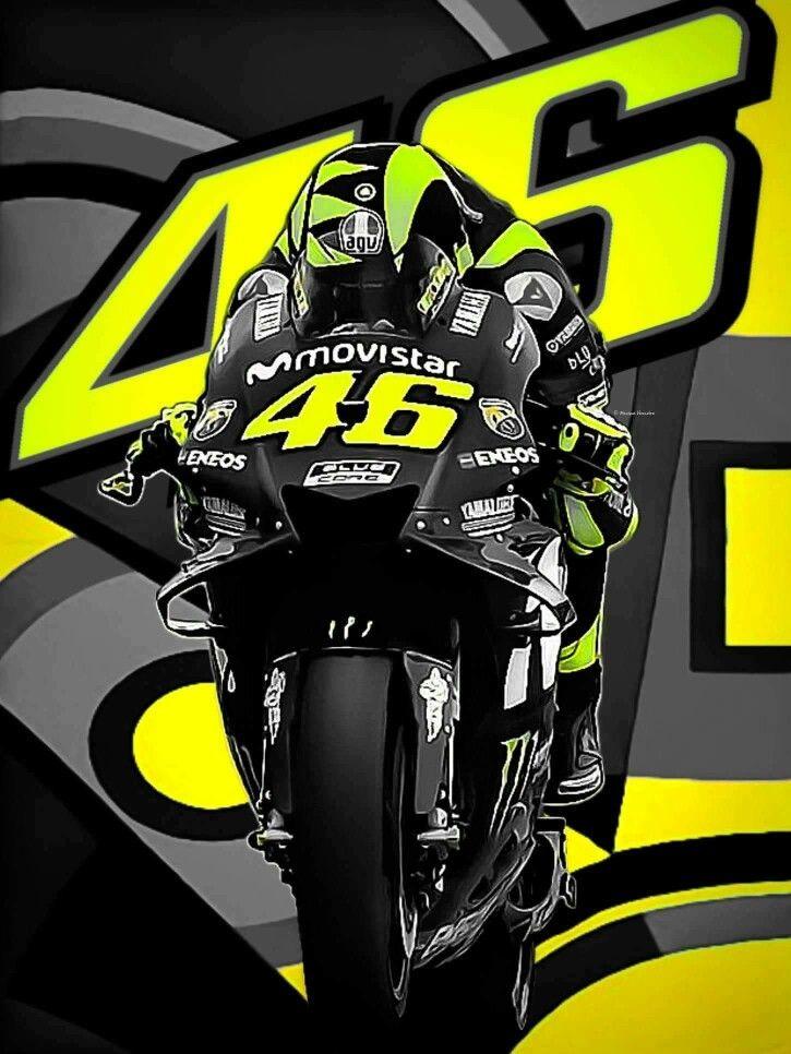 Valentino Rossi Motogp Legend New VR46 POSTER Posters