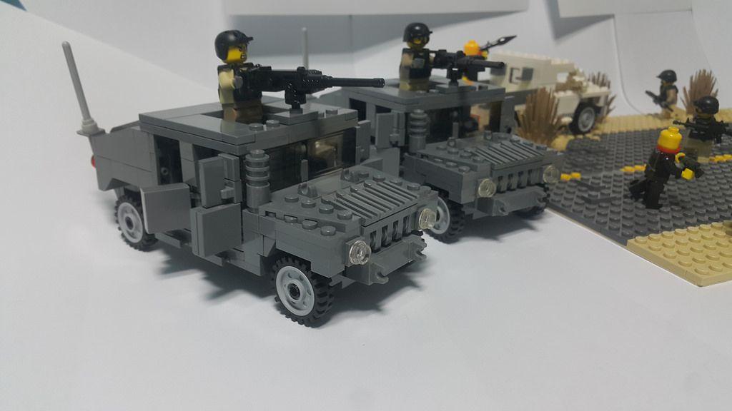 Lego Humvee 2 Units Httpflickrphotos145964203n08