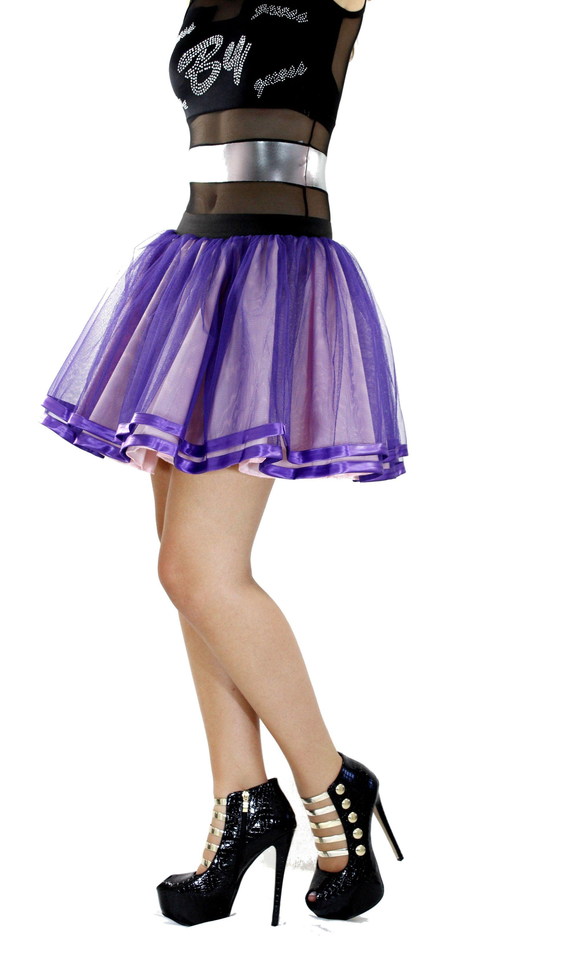74a6b5b1c Faldas De Tul Morada Hermosas faldas de Tul Morada, a estas faldas ...