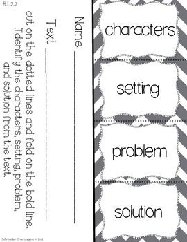 FREE!! This reading response flip flap book resource is a