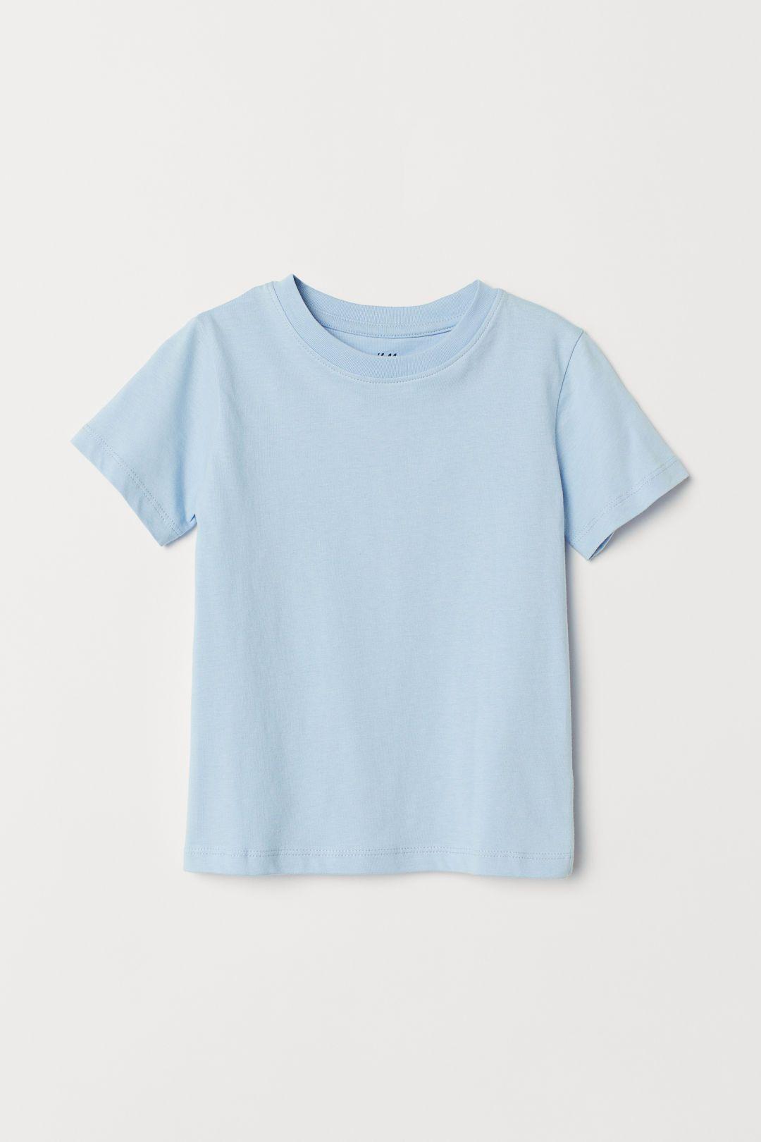 Cotton T Shirt Khaki Green Kids H M Us Cotton Tshirt Plain Tee Shirts Simple Shirts