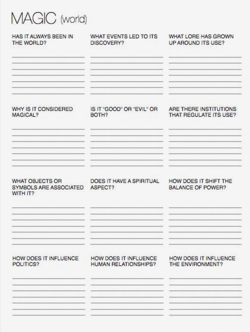 Predownload: Pin By Ava Body On Making Your Own Character Fantasy Writing Writing Worksheets Book Writing Tips [ 1143 x 861 Pixel ]
