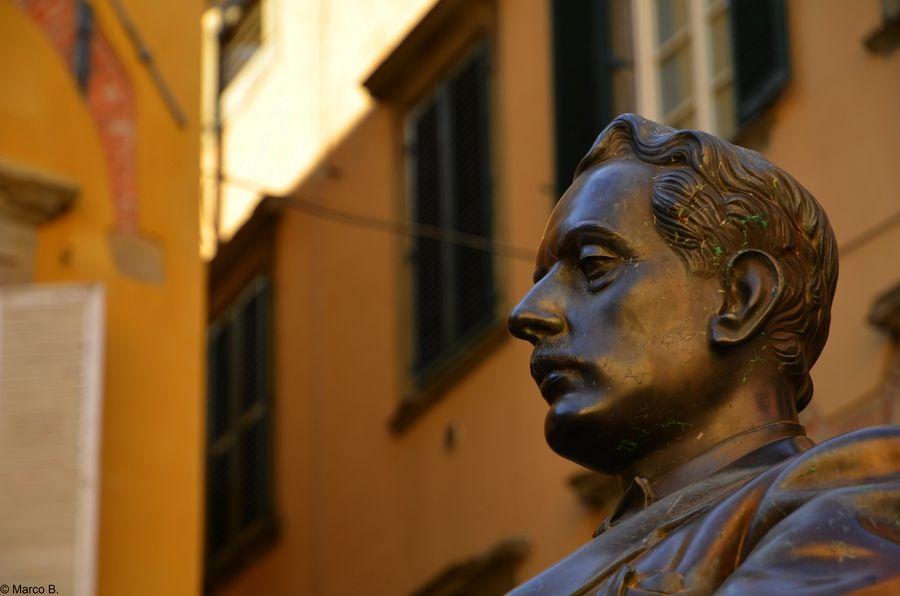 Giacomo Puccini, Piazza Cittadella, Lucca
