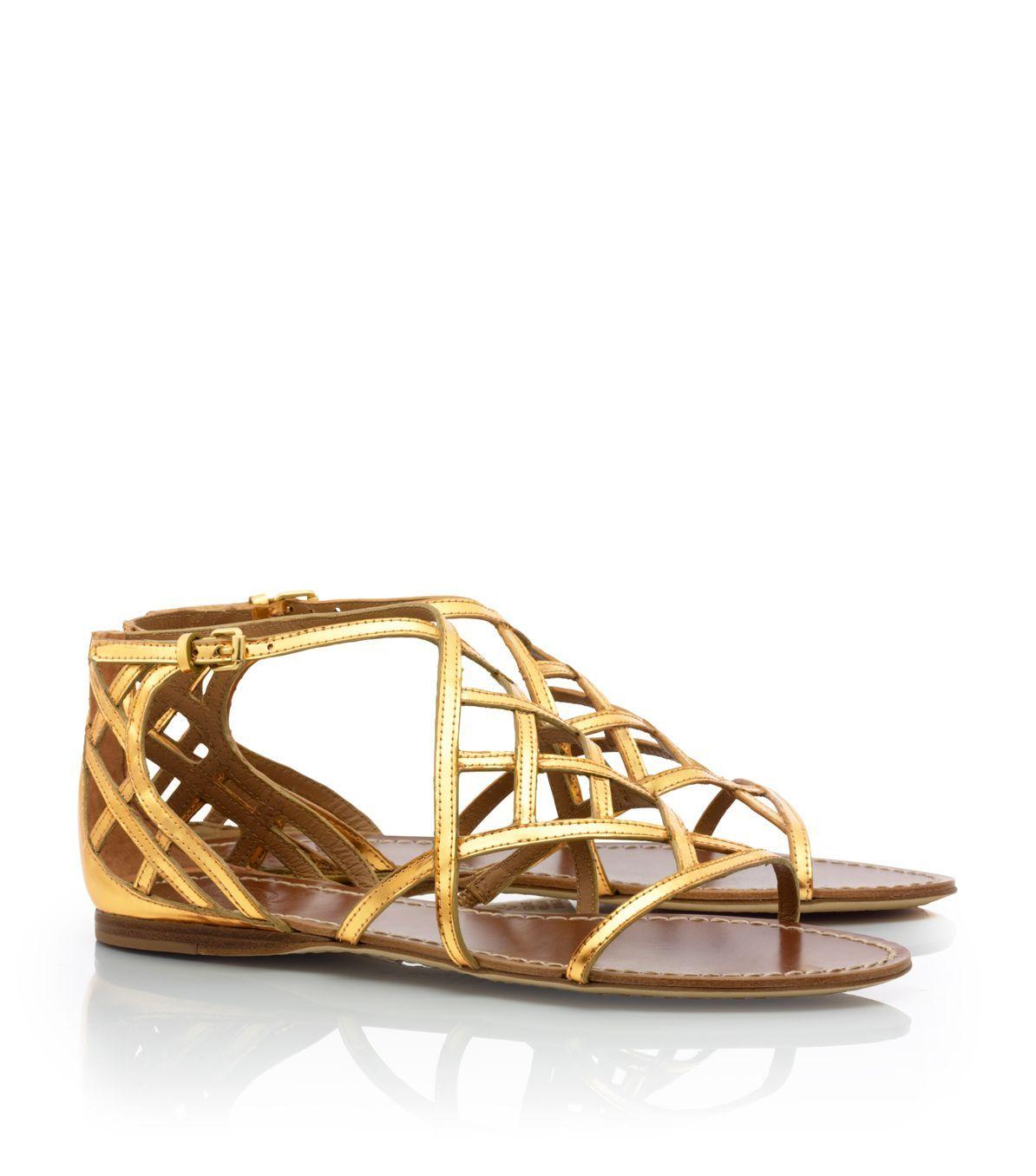 21b00f41d32c5b gorgeous Tory Burch sandal... totally on sale!