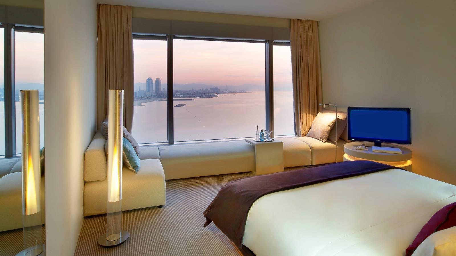 W Hotel Starwood Barcelona Habitacion Madrid Habitaciones De