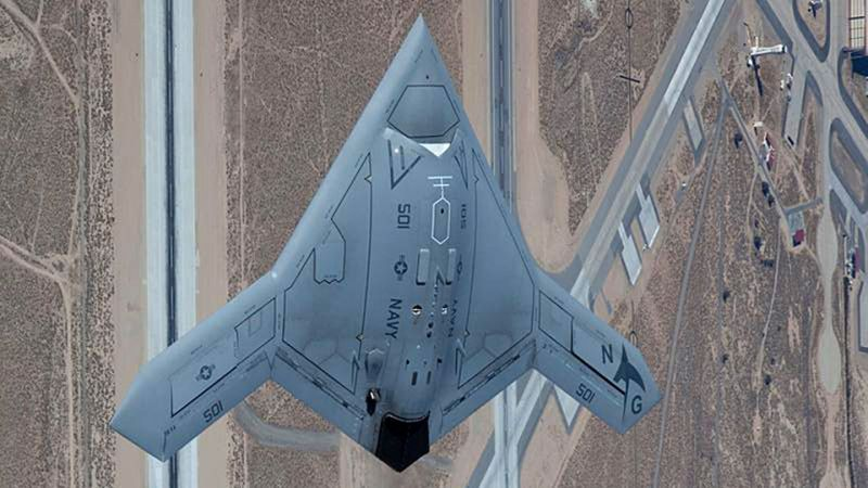 Image result for northrop x 47b stealth drone
