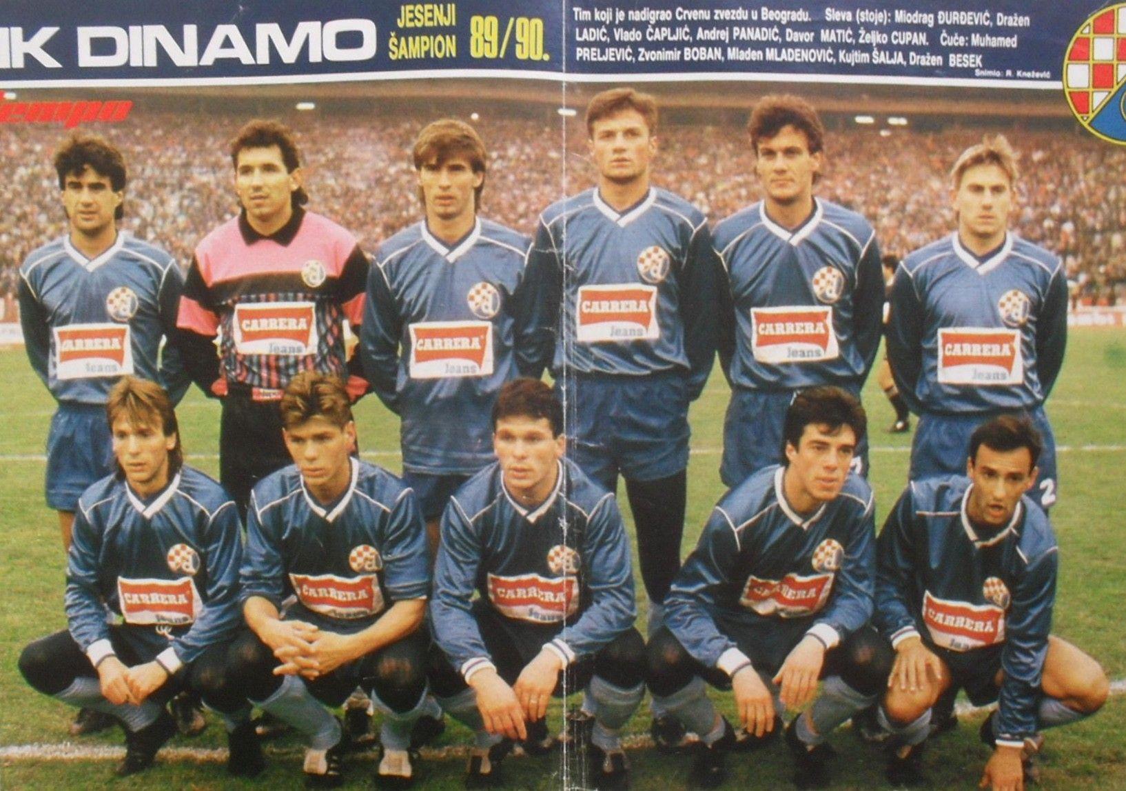 Nk Dinamo Zagreb 1989 90 Fotograf