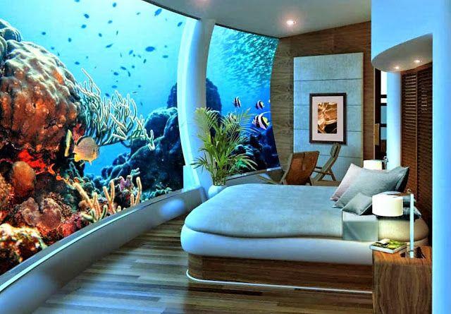Prachtig onder water logeren op Fiji.