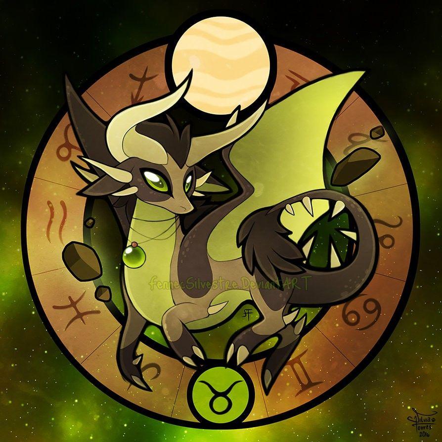 TAURUS (With images) Anime zodiac, Dragon zodiac, Zodiac art